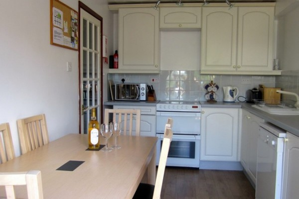 The Kitchen Has A Cooker, Fridge Freezer, Microwave, Dishwasher, Mixer, Toaster, Kettle.  You Can Easily Put Together A Great Meal Some Evenings And Eat Out At A Wide Choice Of Cafes, Pubs And Restaurants On Others